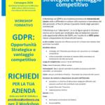 GDPR: Opportunità Strategica e vantaggio competitivo